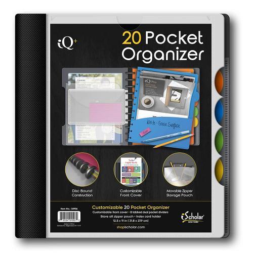 20 Pocket Organizer