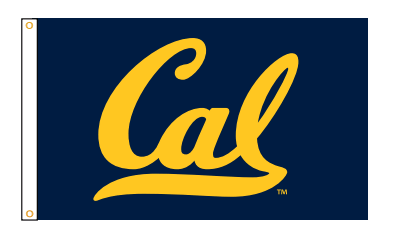 Detailed image of Cal Outdoor Flag