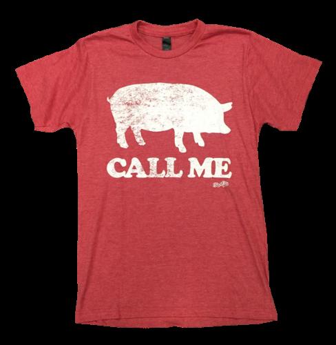 Arkansas Razorbacks - Rock City Outfitters - Call Me Tee - Red/White