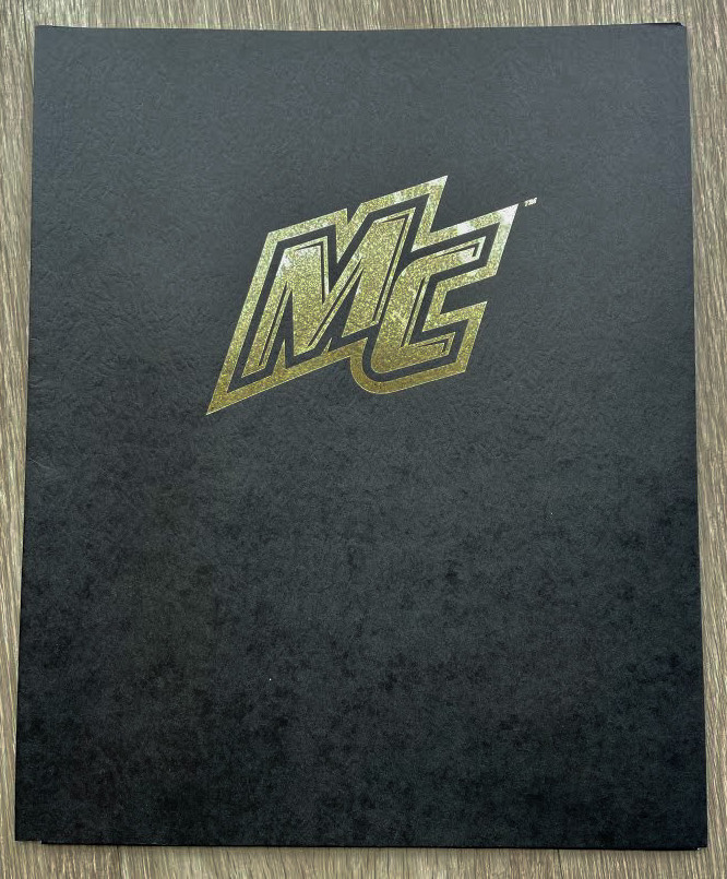 image of: MC Folder - Black