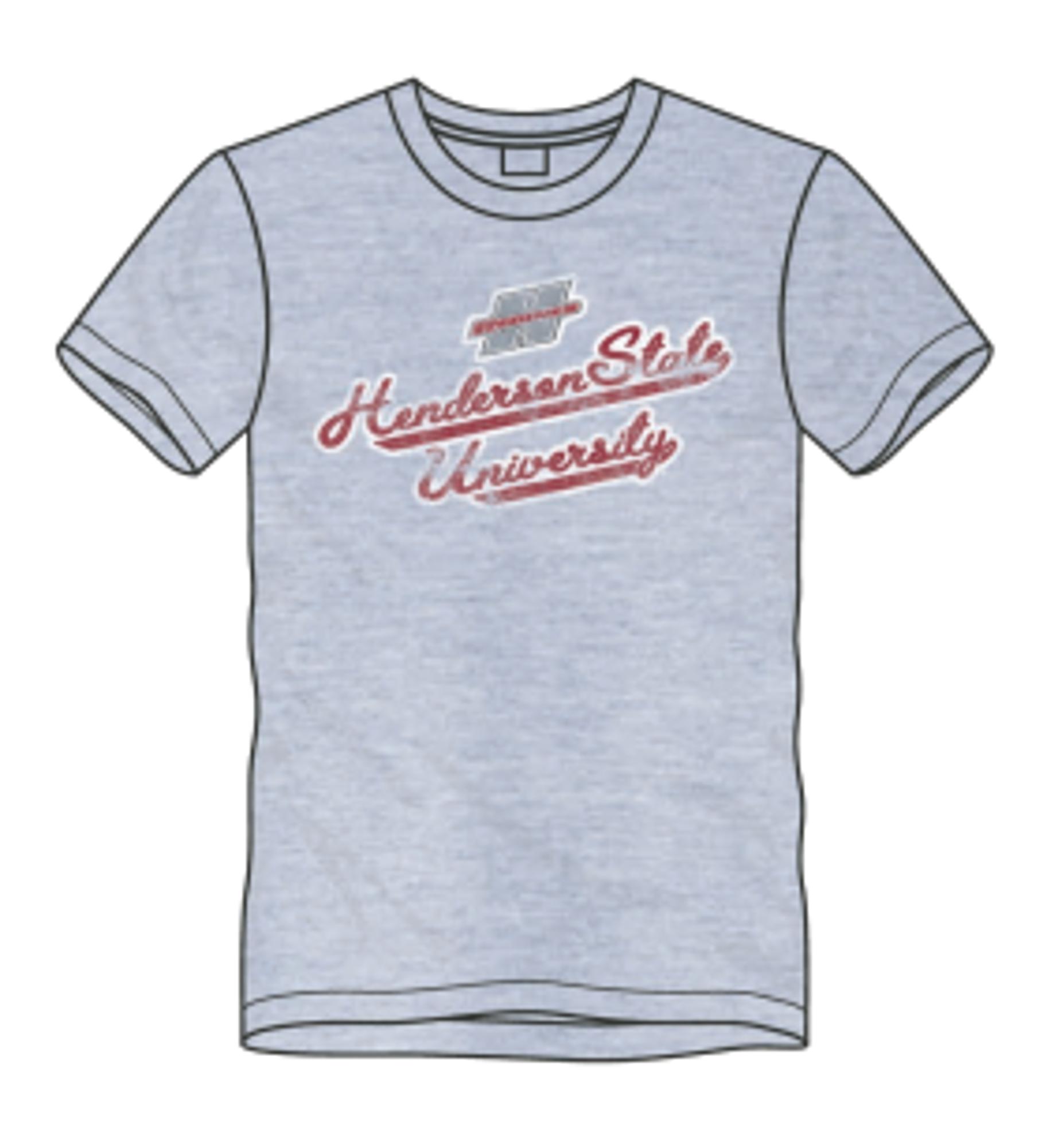 image of: Henderson State University Script Short Sleeve T-Shirt