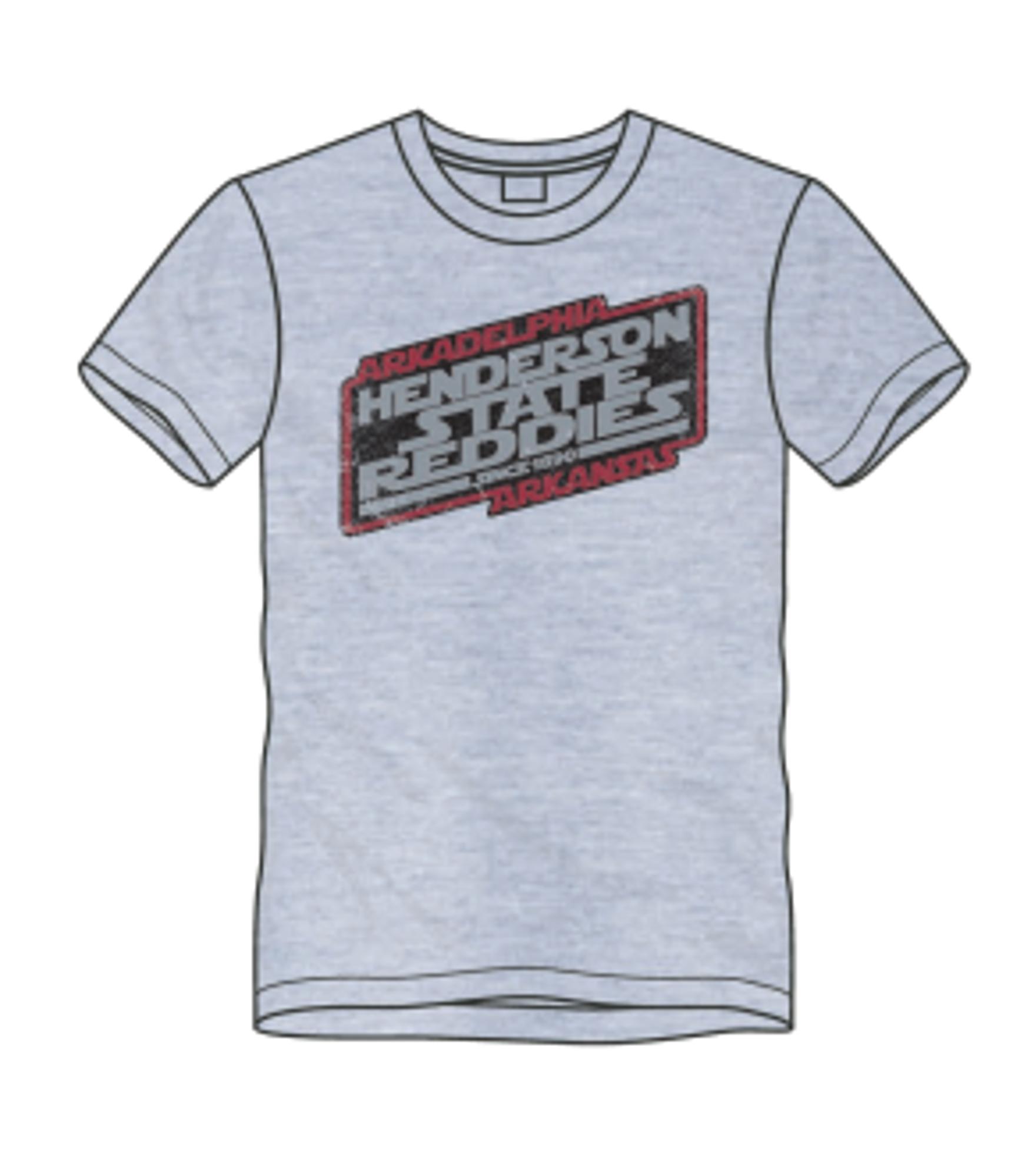 image of: Henderson State Reddies Galaxy Short Sleeve T-Shirt
