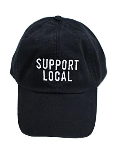 Support Local Charlie Southern Hat - Black