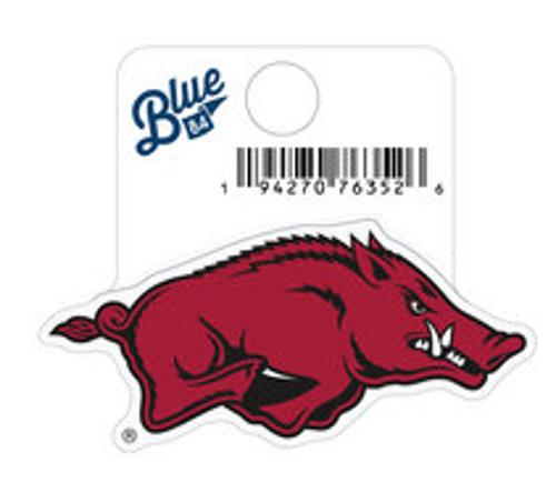 Arkansas Razorbacks Blue 84 Running Hog Sticker