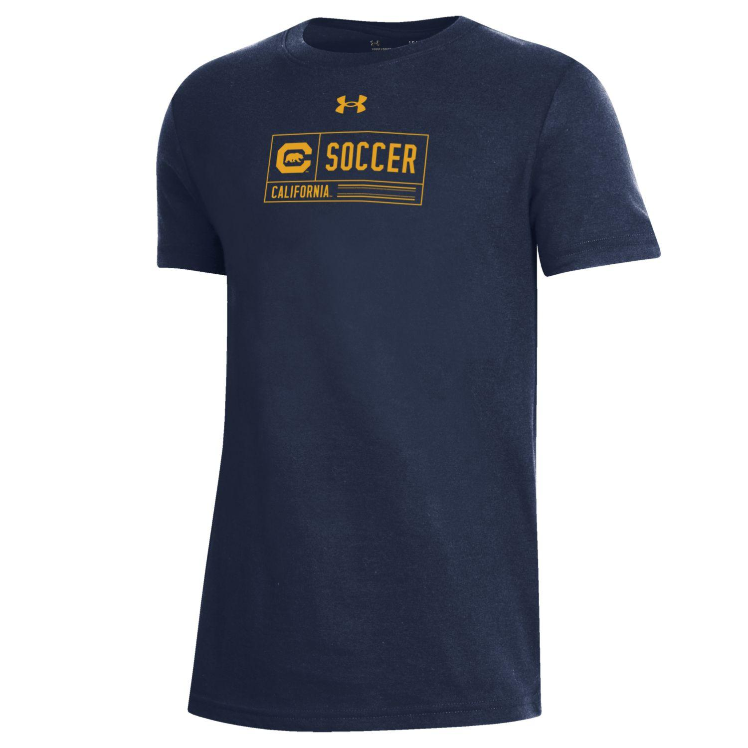 Youth B Performance Cotton SS Tee Soccer