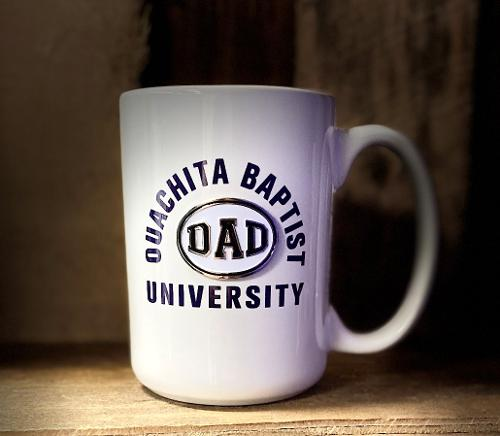 OUACHITA BAPTIST UNIVERSITY DAD MUG