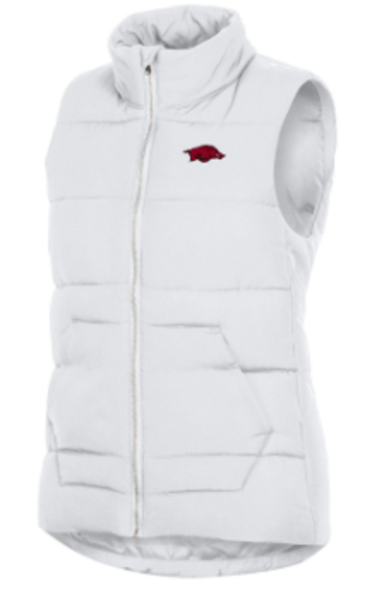 image of: Arkansas Razorbacks Women's Champion MTO Puffer Vest