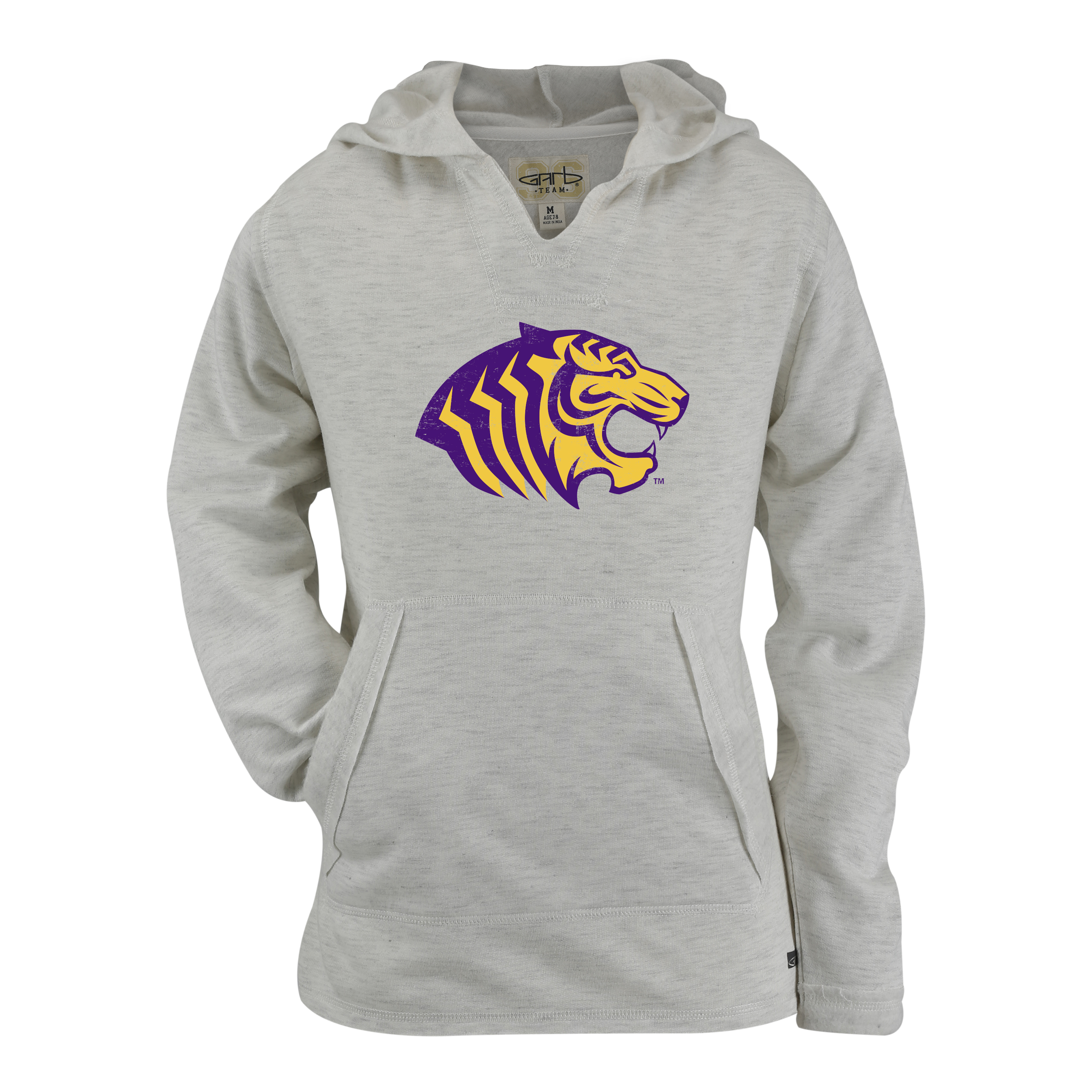 TIGER LOGO REBECCA HOODED PULLOVER - YOUTH