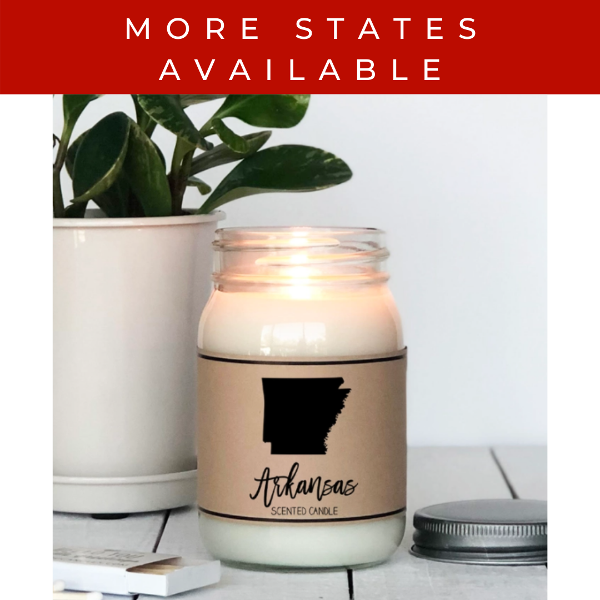 Hello You State Scented Candle