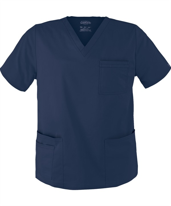 Navy Scrub Top (Unisex)