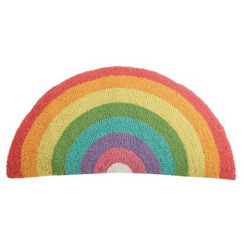 Rainbow Shaped Hook Pillow
