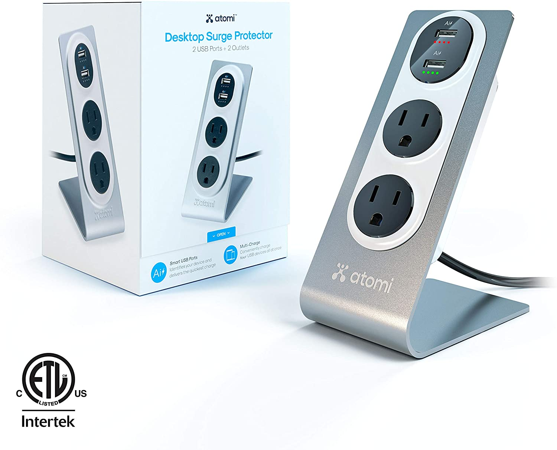 image of: Atomi Desktop Surge Protector