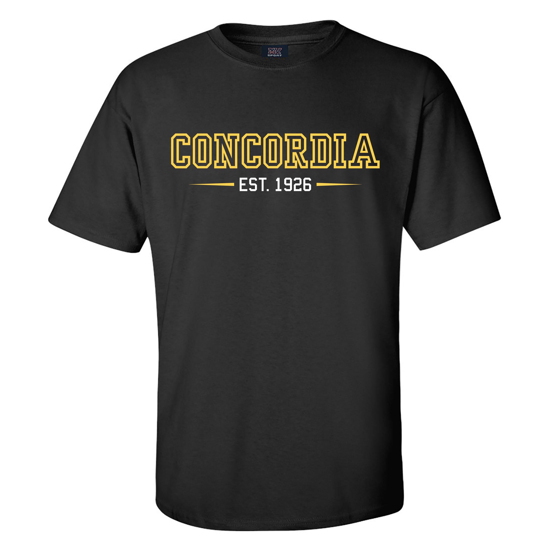 Concordia Est. 1926 Tee - Black