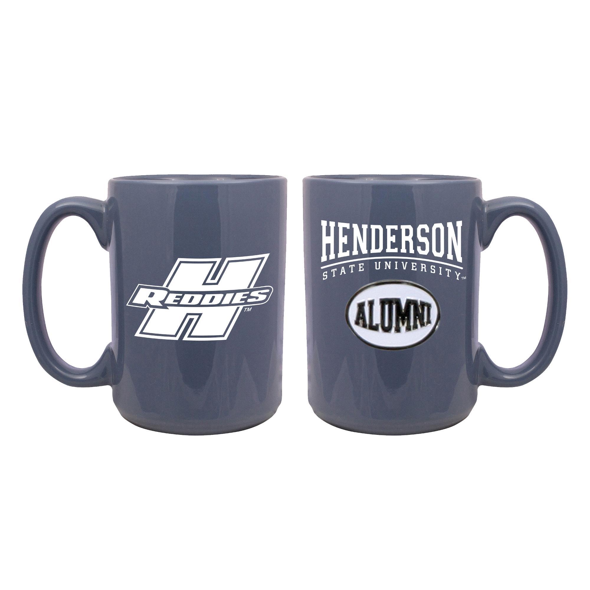 image of: Henderson Reddies Alumni Medallion Mug