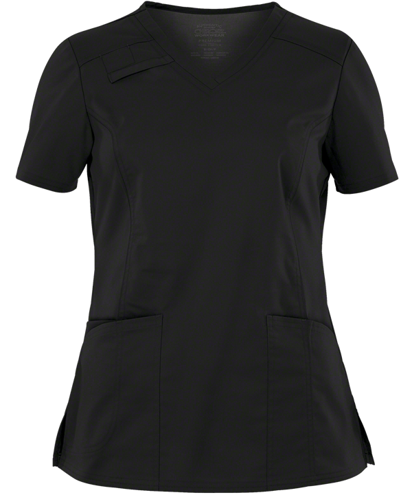 Black Scrub Top (Women's)