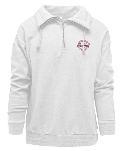 Womens Cloud 9 1/4 Zip Sweatshirt