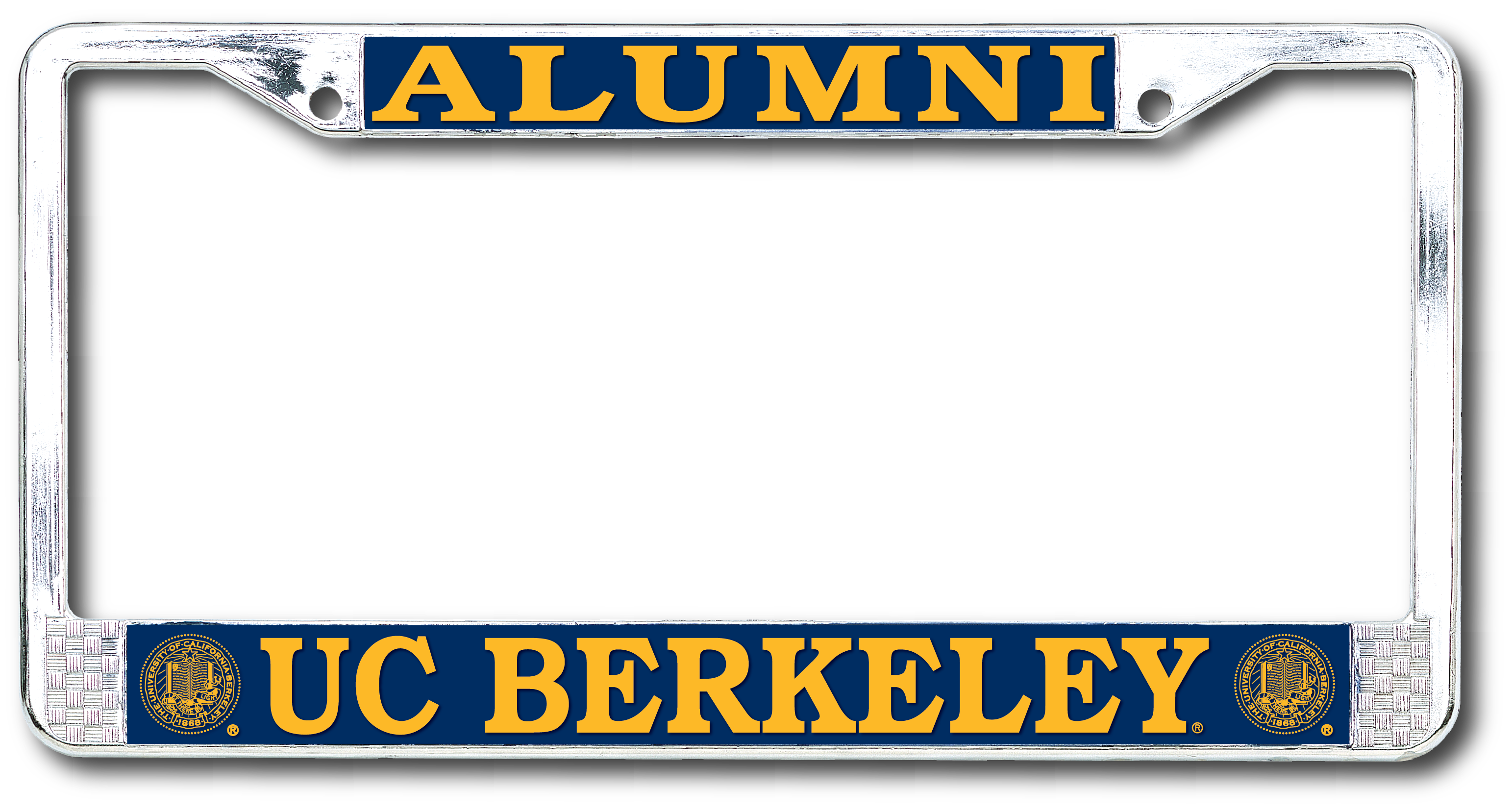 Image for License Plate Frame Alumni UC Berkeley