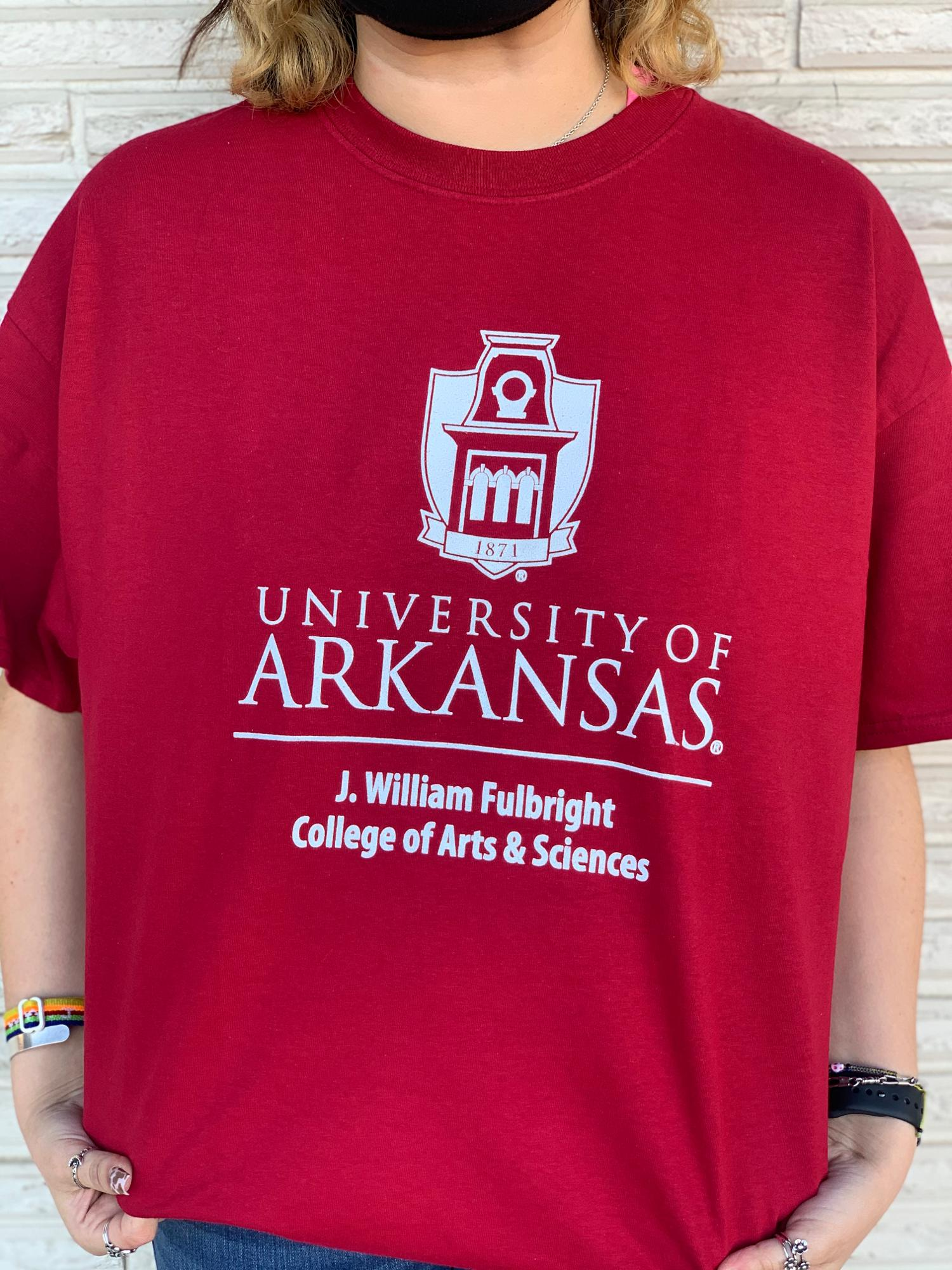 image of: University of Arkansas Fulbright College Tower Tee