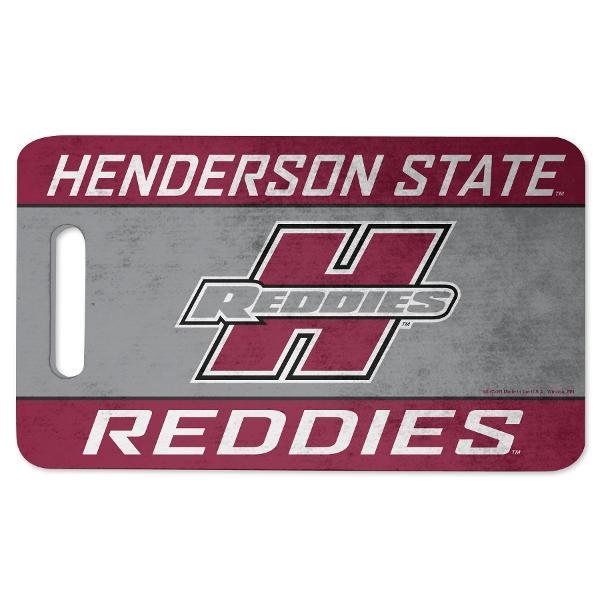 "Henderson State Reddies 10"" x 17"" Foam Cushion"