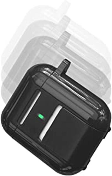 Square Jellyfish Kickstand for AirPods - Black Box